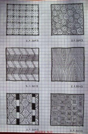 zentangle pattern sez 23 patterns drawn by miekrea nl designed by others
