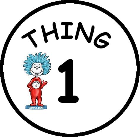 thing one and thing two clipart cliparts co