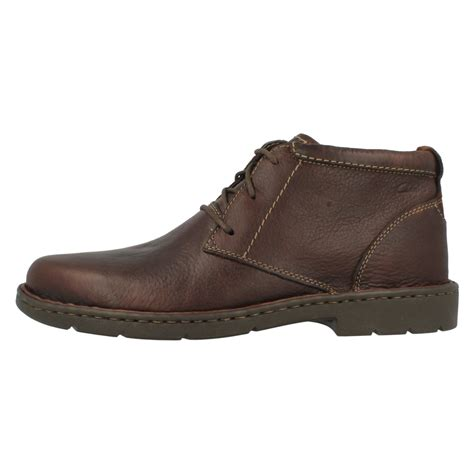mens wide fit boots mens clarks wide fitting smart boots stratton limit ebay