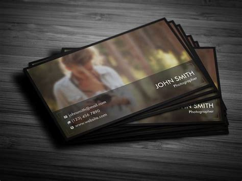Best 25 Photographer Business Cards Ideas On Pinterest Photography Business Cards Creative Card Templates For Photographers