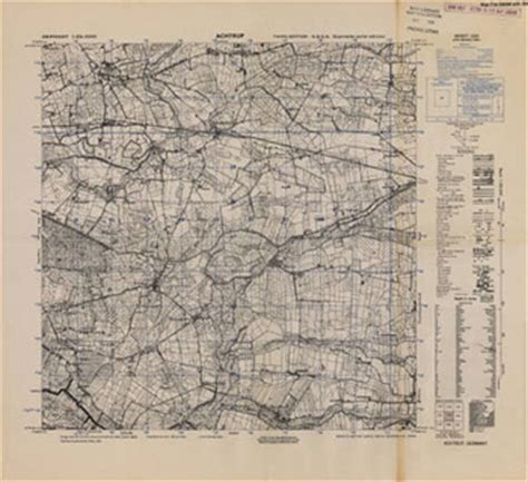 german maps (topographische karte 1:25,000) | collections