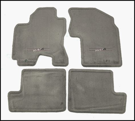 2005 Toyota Rav4 Floor Mats 2001 2005 toyota rav4 carpeted floor mats taupe light