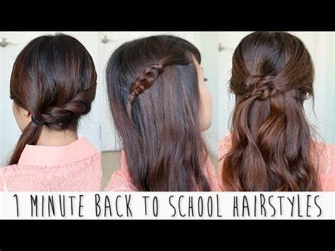 running late ponytail hairstyles 183 just bebexo a back to school hairstyles hair pinterest school