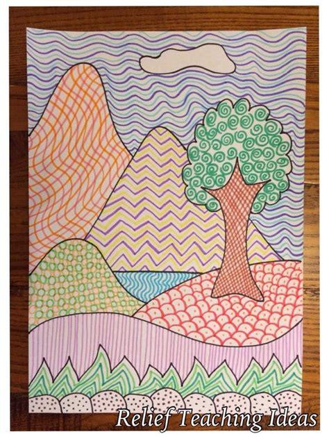 pattern and texture art lessons art lesson plans texture high school 3 d texture