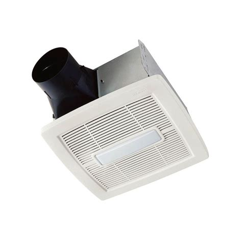 bathroom vent cfm nutone invent series 80 cfm ceiling bathroom exhaust fan with light energy star