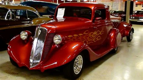 Orange Interior Paint 1935 Studebaker Dictator Coupe Street Rod And Matching