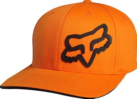 Fox Racing Signature Flexfit Hat Orange 68073 Flex Fit