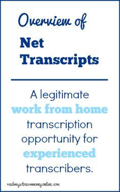 work from home with transcription hub on your own