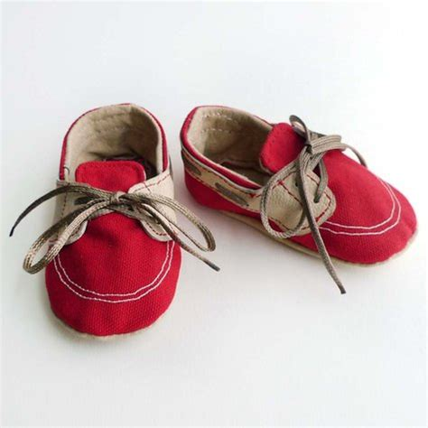 baby boat shoes red baby boat shoes sewing projects burdastyle