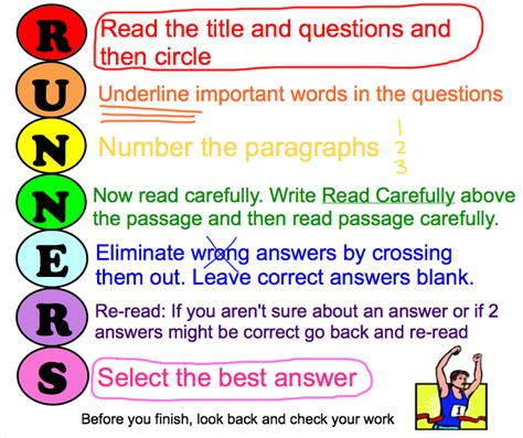 reading comprehension test taking strategies mr deris 2nd grade blog test taking reading strategy