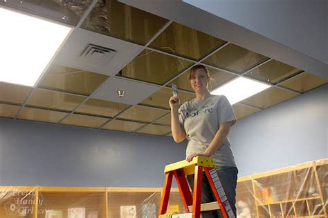 Painting Ceiling Tile Grid by Tips For Choosing Paint Colors In The School Library
