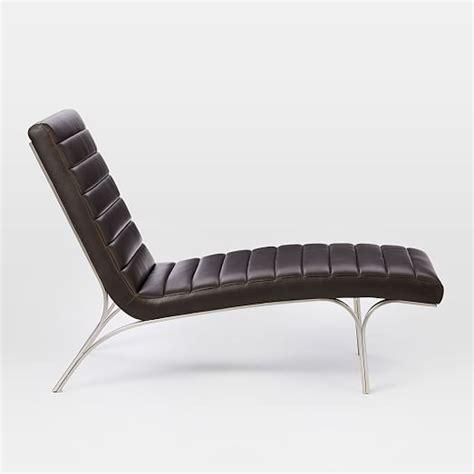 west elm chaise longue emil leather chaise west elm