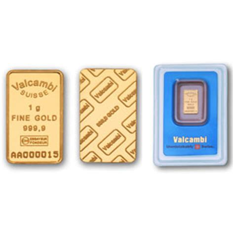 1 gram silver bars price valcambi 1 gram gold bullion bars