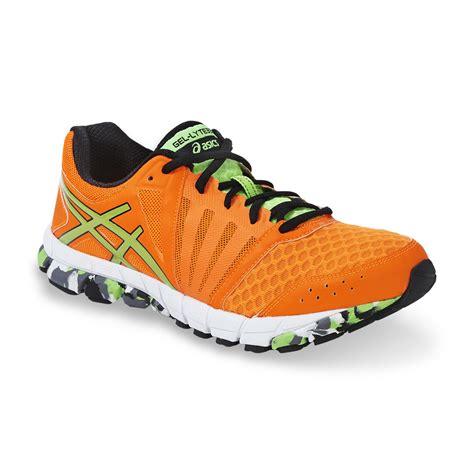 asics neon orange running shoes asics s gel lyte 33 neon orange black running shoe