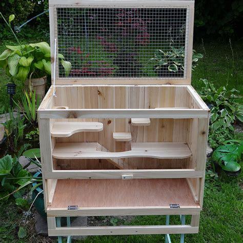 gabbia legno gabbia in legno mirko animalmarketonline