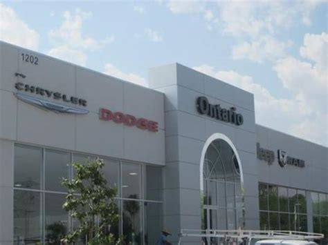Jeep Chrysler Dodge Of Ontario by Jeep Chrysler Dodge Of Ontario Ontario Ca 91761 2208