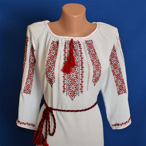 traditional blouse nuwzz ukrainian embroidered s blouse sorochka