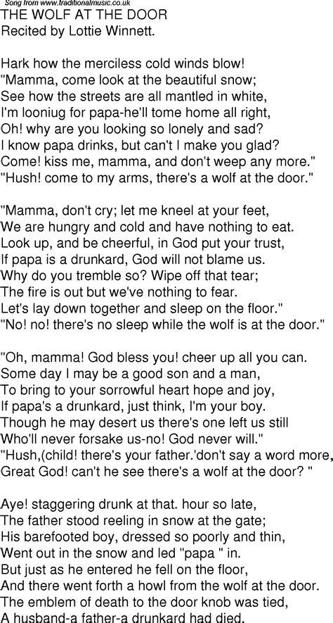 Lyrics Door & Country MusicHoney Won\u0027t You Open That