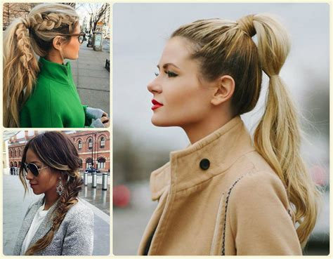 herbst frisuren everyday ponytail hairstyles 2015 fall hairstyles 2017