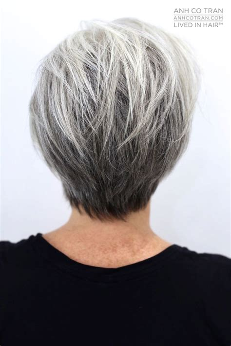 17 best ideas about short gray hair on pinterest short