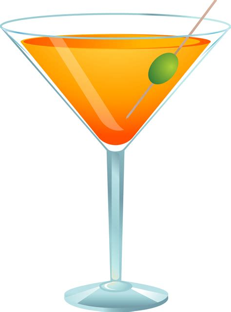 martini drawing clipart of martini glass
