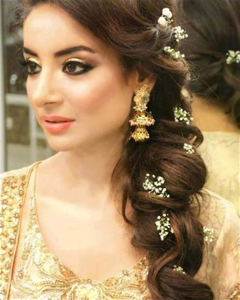 Bridal Hairstyles Side Braid hindu bridal hairstyles 14 safe hairdos for the modern