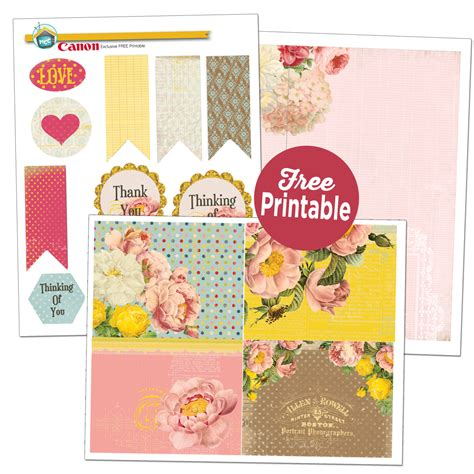 Printable Greeting Cards Canon | my craft channel free printables