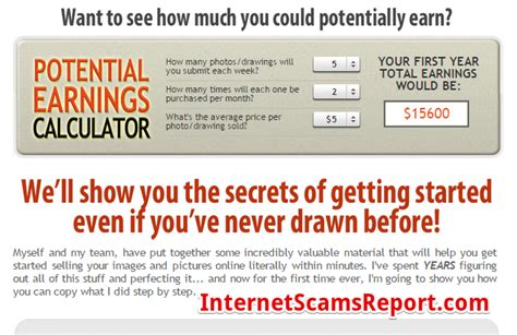 Make Money Drawing Online - is get paid to draw a scam artist in disguise internet scams report