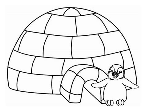 igloo coloring page preschool igloo 20 b 226 timents et architecture coloriages 224 imprimer