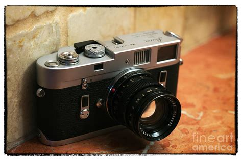 vintage leica vintage leica m4 photograph by rizzuto