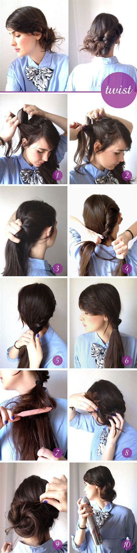 hairstyles you can do at home for black hair creative hairstyles that you can easily do at home 27