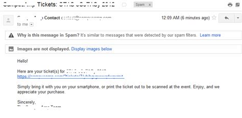 email ending how did my email end up in spam spam only filters this