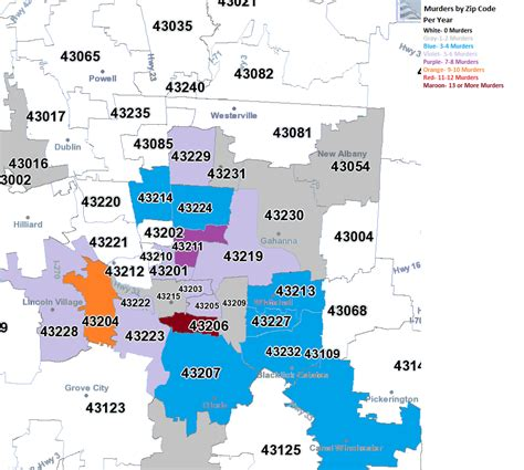 service ohio zip code map for cincinnati ohio my