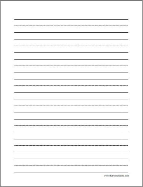 best paper to write on printable kindergarten writing paper template 9 best