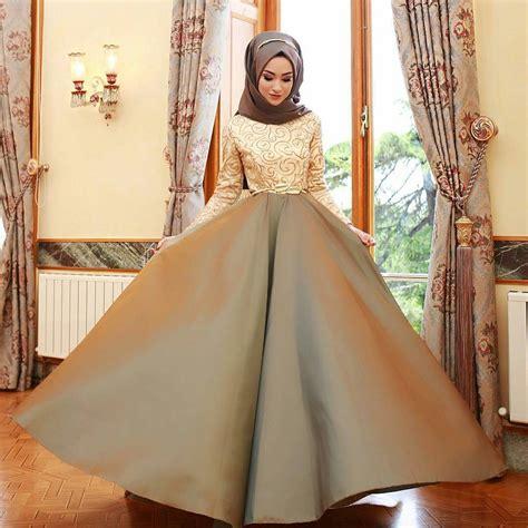 Dress Baju Pesta 10 contoh model baju pesta muslim modern elegan mewah