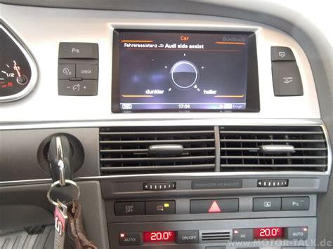 Audi A6 4f Check Taste f 252 r was sind diese unbelegten tasten in der mittelkonsole