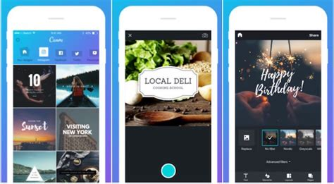 design app canva canva app design ora universale per iphone e ipad
