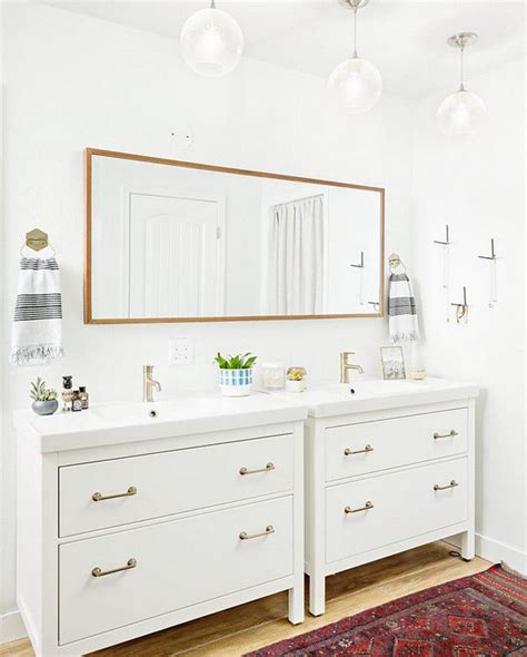 Ikea Bathroom Vanity Ideas by Best 25 Ikea Bathroom Ideas On Ikea Hack
