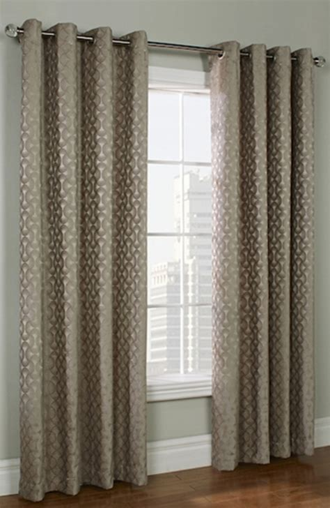 chenille curtain panels rope chenille grommet top curtain panel