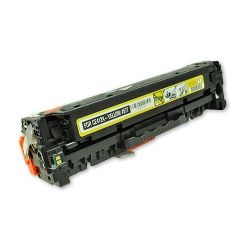Hp Yellow Toner 305a Ce412a hp 305a ce412a remanufactured yellow laser toner cartridge