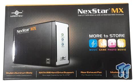 Vantec Nexstar Mx 2 5 Inch Dual Bay External Raid Enclosure Review