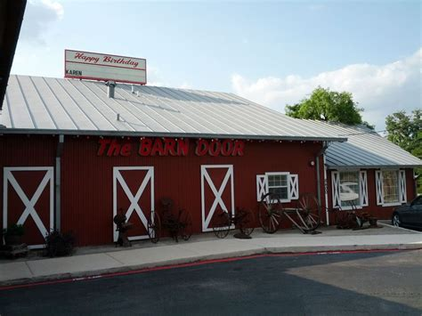 Barn Door Cafe The Barn Door San Antonio Le Continental