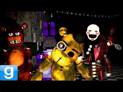 mod garry s mod five nights at freddy s playable animatronics gmod five nights at freddy s 2