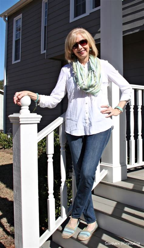 casual style over 50 fashion over 50 casual jeans outfits southern hospitality