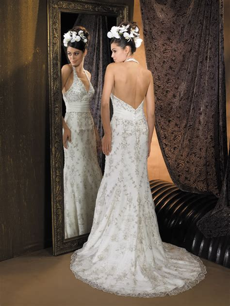 stylish backless gowns for weddings weddings