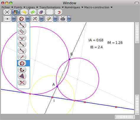 mathematical diagrams software math software a program to draw simple geometry points