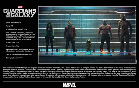 film marvel guardians of the galaxy disney releases new 2014 marvel movie images synopses