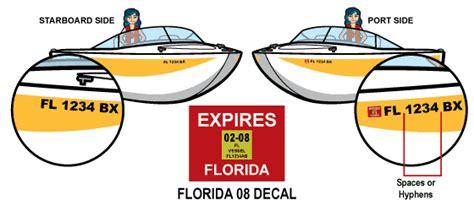 florida boat registration by county vessel registration renewal florida