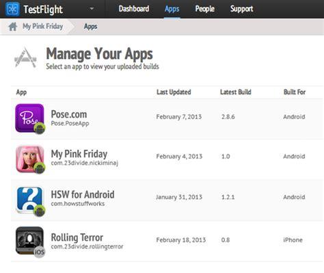 testflight android testflight llega a android para ayudar a los desarrolladores con las apps en beta el androide