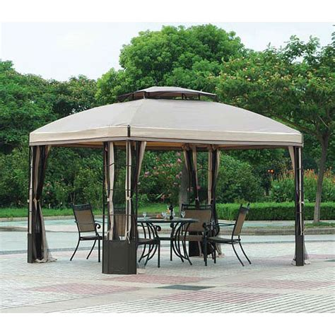 Big Lots 10 x 12 Bay Window Gazebo Replacement Canopy